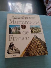 MONUMENTS DE FRANCE(全彩画册)