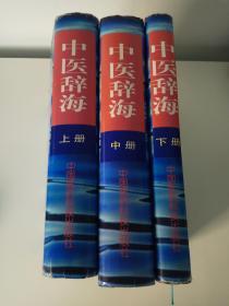 中医辞海(上中下 全三册)