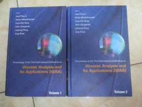 Wavelet Analysis And( Its Applications volume1,Active Media Technology(volume2)(两本和售)