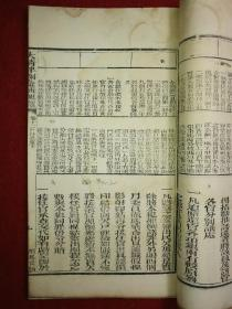 【官版】清刻本-白纸 《大清律例汇辑更览》卷十二户律仓库(下)--大开本--字体工整--易读--整书考究