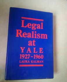 legal realism at yale 1927--1960(耶鲁的法律现实主义)