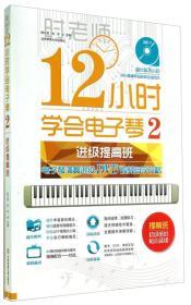 12小时学会电子琴2:电子琴演奏进级DVD视频教程自学攻略
