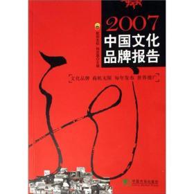 中国文化品牌报告:2007