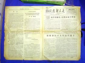 100010262  文革小报新人大 新北大报联合报1967.8.31