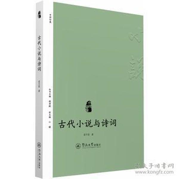古代小说与诗词(小说中国)
