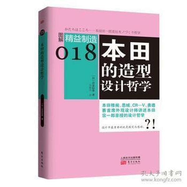 图解精益制造018:本田的造型设计哲学