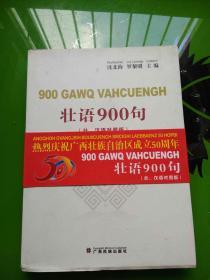 壮语900句(壮、汉语对照版)  带两个光盘