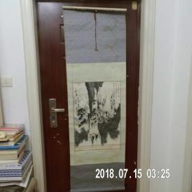 山东美协会员;王子源先生绘画作品《雪泉》