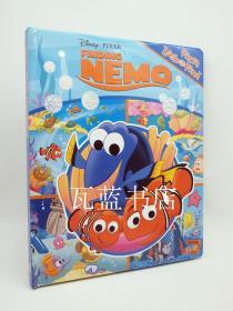 海底总动员Finding Nemo My First Look And Find 大纸板书 英文原版