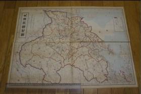 大满洲国地图      日本出版