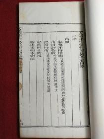 【官版】清刻本-白纸 《大清律例汇辑更览》卷十五户律市㕓--大开本--字体工整--易读--整书考究