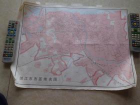 镇江市市区地名图