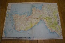 朝鲜地图     日本出版    1937年