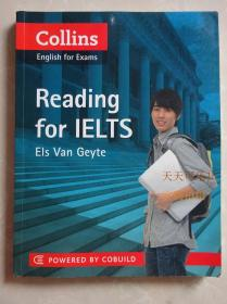 Collins English for exams reading for IELTS  正版