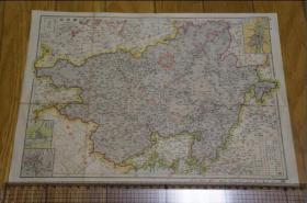 广东·广西地图     (老地图)