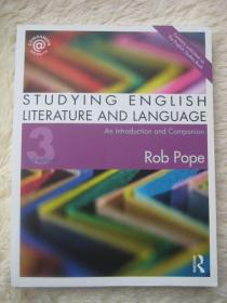 Studying English Literature and Language: An Introduction and Companion 第三版
