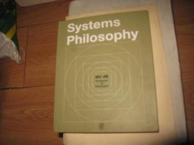 英文原版:Systems Philosophy【系统哲学】
