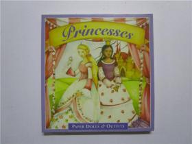 Princesses PAPER DOLLS OUTFITS (公主纸娃娃套装)24开