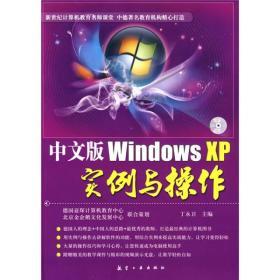 中文版Windows XP实例与操作