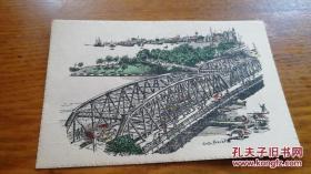 民国明信片《Garden Bridge,Shanghai》JYC