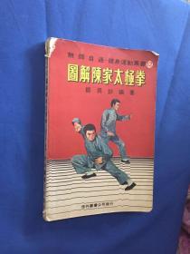 武术类:图解陈家太极拳(老架式) 原传拳架照片传真!