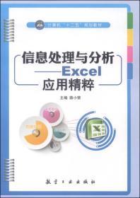 信息处理与分析--Excel应用精粹