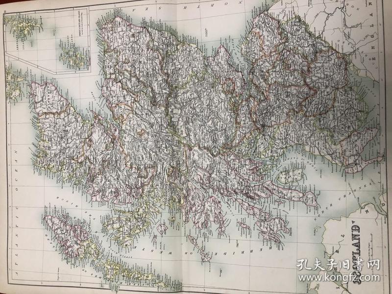 清代 古旧地图