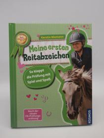 德文赛马故事绘本 Meine Ersten Reitabzeichen 德语儿童书
