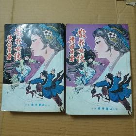 散花女侠-梁羽生,上下册全,繁体武侠小说