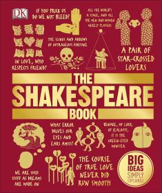 威廉莎士比亚大百科全书 The Shakespeare Book 英文原版 DK出品
