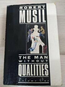 The man without qualities volume 1 没有个性的人 英文原版  品相佳
