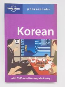 韩语英语对照语言发音手册KOREAN PHRASEBOOK(Lonely Planet)