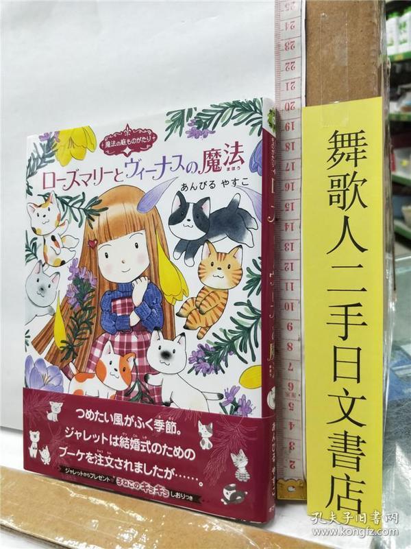 魔法の庭ものがたり14 ローズマリーとヴィーナスの魔法  日文原版32开硬精装儿童读物 あんびるやすこ 岩崎书店
