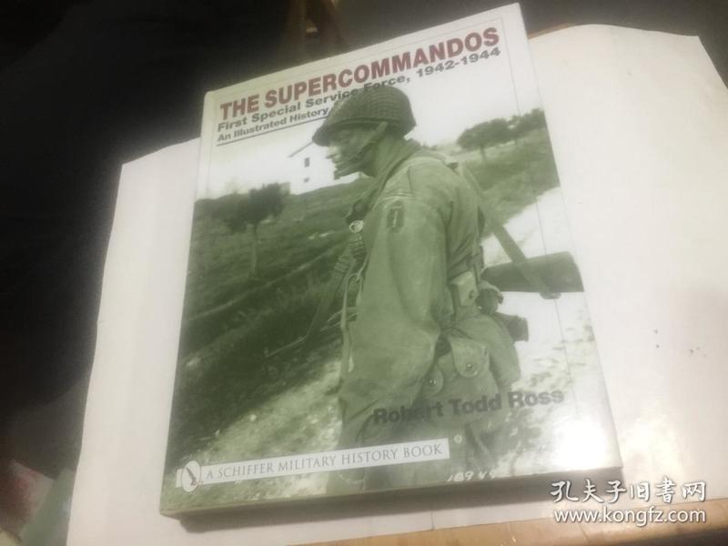 the supercommandos   (16开精装外文原版.见图)