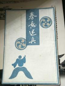 拳意迷真(中国传统武术丛书一版一印)