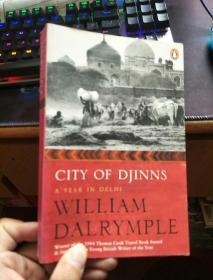 英文原版---City of Djinns - a Year in Delhi / 精灵之城:德里一年