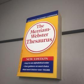 The Merriam-Webster Thesaurus 原版引进 韦氏字典 黄韦氏 英文版 原版书!原箱为证如图【 库存新书  自然旧  正版现货  实图拍摄】