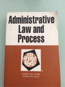 Administrative LAW and process 行政法