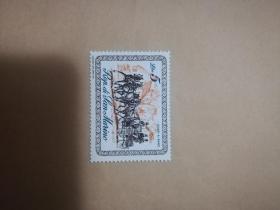 外国邮票 圣马力诺邮票马车  1枚(乙8-1)