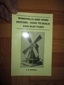 Windmills and Wind Motors - How to Build