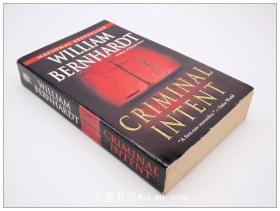 William Bernhardt 英文小说Criminal Intent / Murder One 2款可选 每本19元