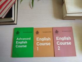 English Course1初级 + English Course2中级+ Advanced English Course高级 (灵格风英语教程)三册合售