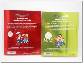 法语漫画书 法漫原版书 儿童版法文动画故事书Le meilleur de Tom Tome 1/3