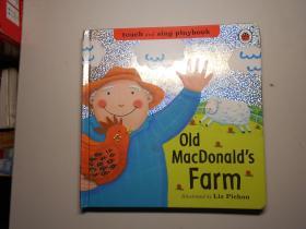 英文原版 儿童画册:《麦克唐纳牧场》
