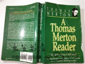 原版英法德意等外文书 A Thomas Merton Reader Edited by Thomas P McDonnell IMAGE 大32开平装
