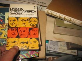Division Street:America Studs Terkel 斯特兹.特克尔口述史 英文原版