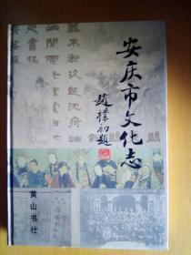安庆市文化志