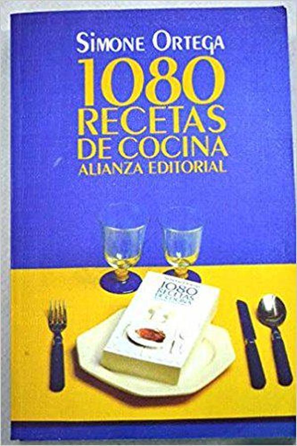 西班牙语原版书 畅销书 1080 recetas de cocina 1080种烹饪食谱菜谱 1996 de Simone Ortega  (Autor)
