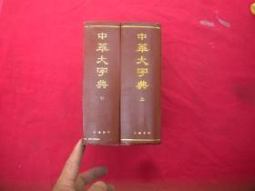 中华大字典【上下】缩印本。