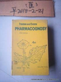 英文原版医学图书:生药学  TREASE AND EVANS PHARMACOGNOSY  111TH EDITION